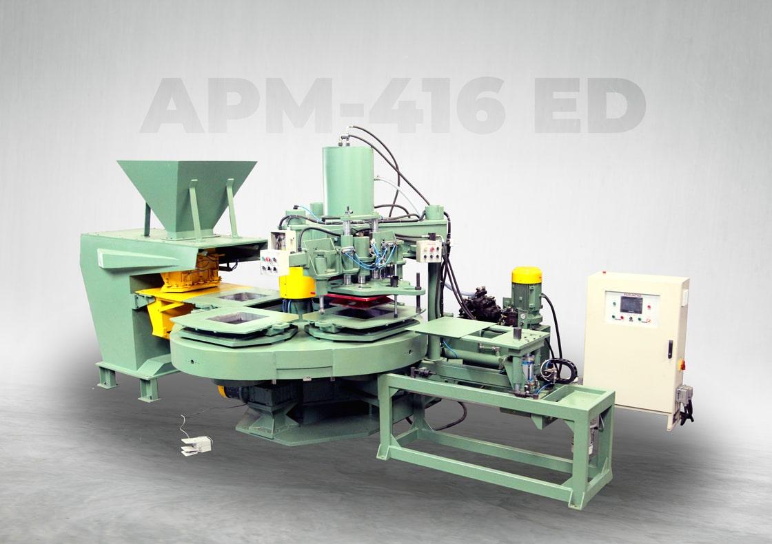 paver block machine in India