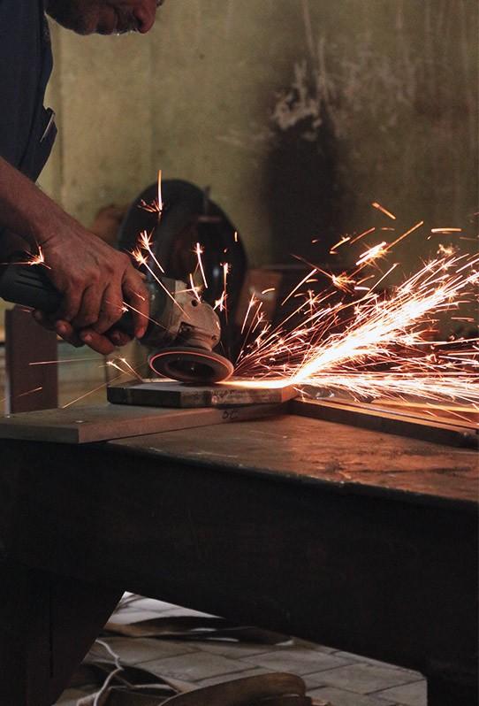Parijatha Machinery workshop