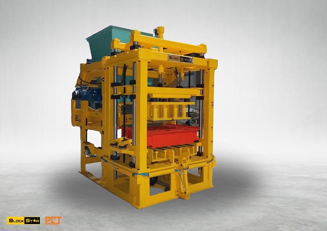 Concrete Block Making Machine -BlockStar