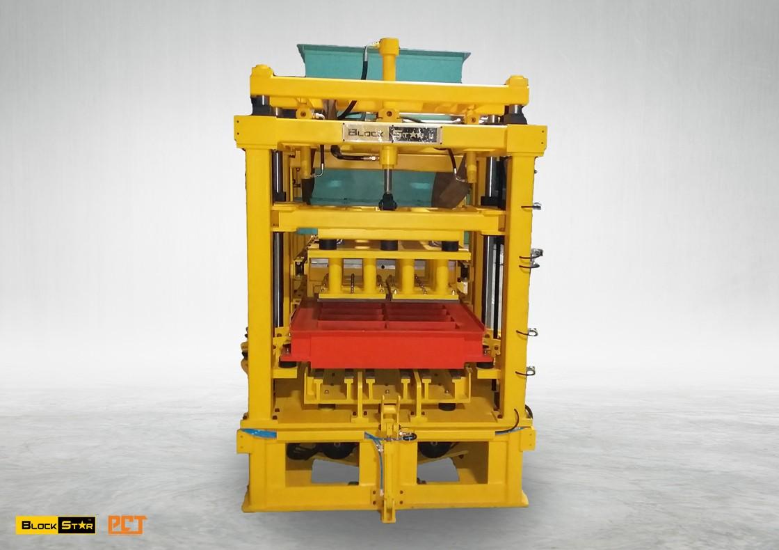 cement block machine in India