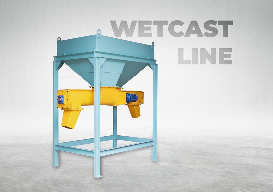 Wet Cast Line